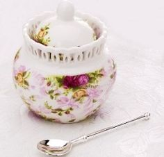 ❤️ Royal Albert China - Old Country Roses - Pierced Collection