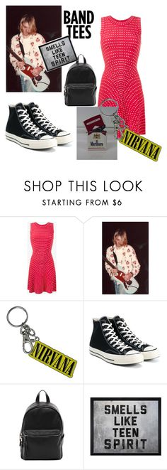 """""""Untitled #83"""" by izvanredna ❤ liked on Polyvore featuring Alaïa, Converse, French Connection and Hatcher & Ethan"""