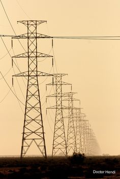 Power Towers Row by Dr. Hendi, via Flickr