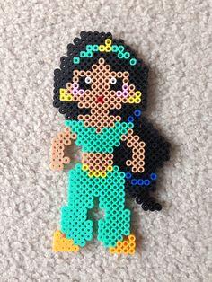 Jasmine perler beads by Amy Johnson Castro