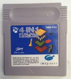 #GameBoy Japanese 4-In-1 Fun Pak DMG-F4J http://www.japanstuff.biz/ CLICK THE FOLLOWING LINK TO BUY IT ( IF STILL AVAILABLE ) http://www.delcampe.net/page/item/id,0362824359,language,E.html