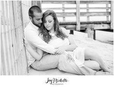 Kelly + Thomas {Engaged} / Bayside Engagement Session / Lewes Delaware / Delaware Photographer | Joy Michelle Photography