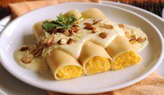 Canelones de Zapallo con Salsa de Cardamomo - Gourmet, el placer de comer bien