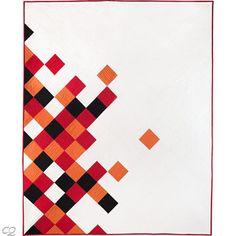 Concerto Modern Quilt Pattern Alyssa Lichner Wall to King Size