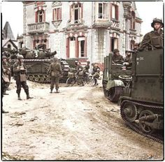 British in Le Breche d'Hermanville, Normandy on June 6, 1944, 71 years ago today.