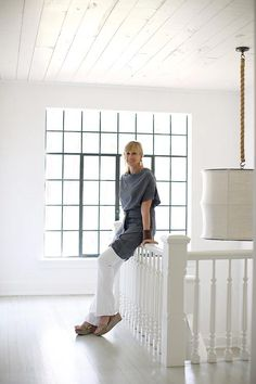 Interior Designer Kay Douglass, owner of South of Market. Specializes in Belgian Style
