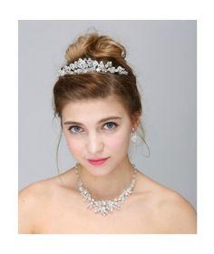 Set tiara, colier si cercei Royalty  Pret:289lei  #settiaramireasa