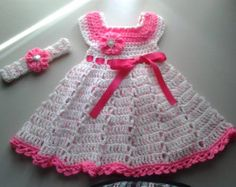 baby girl crochet patterns - Google Search