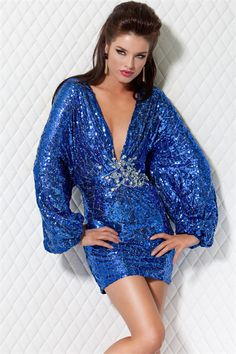 Gorgeous Red Short Bodice Long Sleeve New York Evening/celebrity/pageant Dresses Jovani 158975 Dress - Cheap Discount Evening Gowns Prom Dresses Jovani, Pageant Dresses, Homecoming Dresses, Sparkly Shorts, Metallic Look, Short Dresses, Girls Dresses, Dresses 2013, New Years Eve Dresses