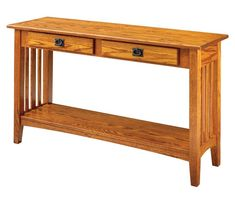 Exceptional in its traditional beauty, this Mission-style solid wood sofa table brings decades of timeless beauty to the hallway, living room, or reception. Fine Furniture, Sofa Furniture, Furniture Plans, Wood Sofa Table, Sofa Tables, Hall Tables, Console Tables, Craftsman Furniture, Craftsman Interior
