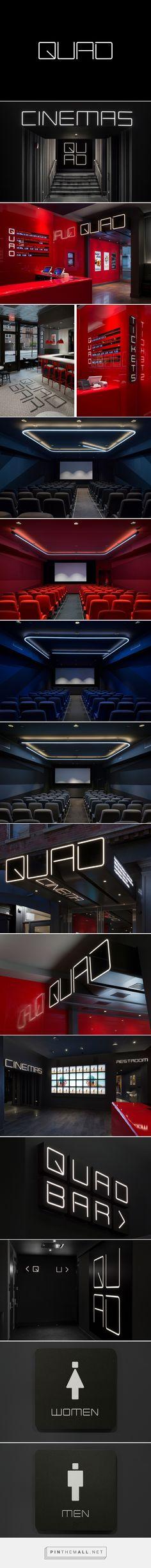New Logo & Branding for Quad Cinema by Pentagram — BP&O - created via https://pinthemall.net
