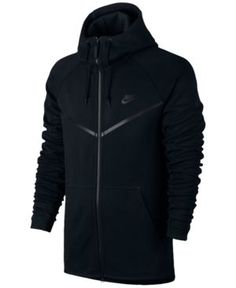 Nike Men's Tech Fleece Windrunner Hoodie - Black 2XL