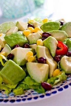 Recetas de Cocina faciles.: Ensalada con palta rapida