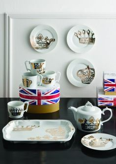 Kings Road Redux Dessert Plates