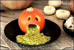 Guacamole - presentation pictured would be fun for a Halloween Party :)