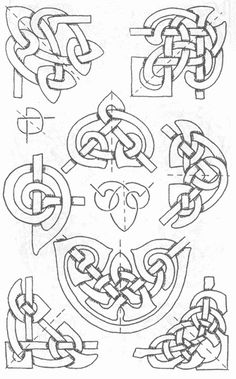 Celtic knots for page corners