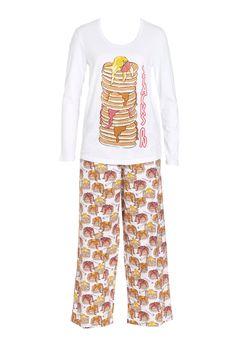 Pancake Stack Pj Set from Peter Alexander