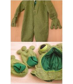 Frog Costume (3 to 5 years)
