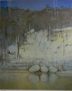 Art market auction sales from the to 2019 for works by artist Arthur Merric Bloomfield Boyd and values for over other Australian and New Zealand artists. Australian Painting, Australian Artists, Abstract Landscape, Landscape Paintings, Arthur Boyd, River Fish, Aussies, Lynch, Art Market