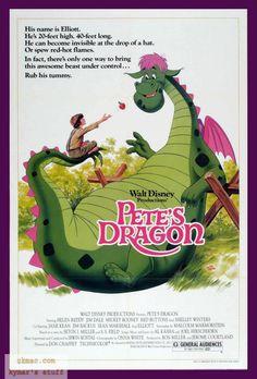 Meu Amigo o Dragão (Pete's Dragon), 1977.