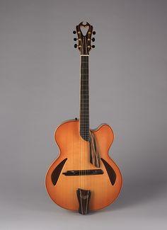 James D'Aquisto: Archtop Guitar (2012.246) | Heilbrunn Timeline of Art History | The Metropolitan Museum of Art