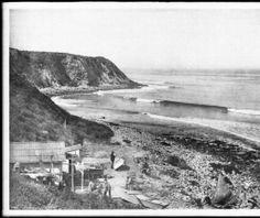 PALOS VERDES:  1800's photo of Palos Verdes now known as Haggerty's Point near Malaga Cove.