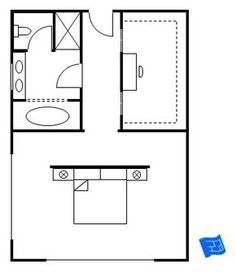Bedroom Designs With Attached Bathroom And Dressing Room walk-in robe and ensuite plan | ensuite | pinterest | robes, ideas