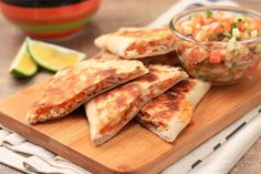 Quesadillas are the ultimate easy weeknight meal or snack. Enjoy this collection of easy, cheesy quesadilla recipes everyone in the family will enjoy. Quesadilla Recipes, Mexican Quesadilla, How To Cook Chicken, Cooked Chicken, Chicken Meals, Leftover Chicken Recipes, Chicken Leftovers, Easy Meals For Two, Easy Weeknight Meals