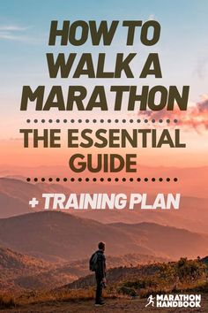 Here's our complete guide to walking a marathon - whether you're a total beginner or otherwise, this is how to walk a marathon - it includes a walking marathon training plan!