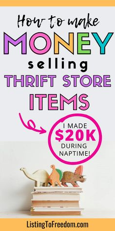 Make Money On Amazon, Make Money Online Now, Make Money Fast, Make Money From Home, Thrift Store Fashion, Thrift Store Finds, Business Baby, Business Tips, How To Sell Clothes