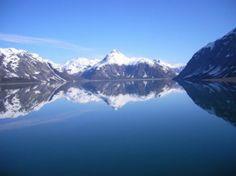 Gorgeous glaciers in Alaska.