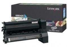 Lexmark 10B042C Laser Toner Cartridge for C750/X750E Printers - Cyan - 15000