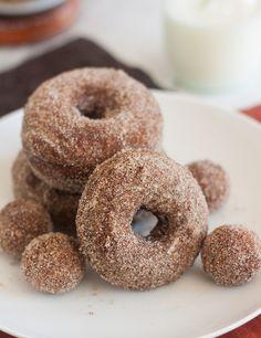 Cinnamon-Sugar Gingerbread Doughnuts by Tracey's Culinary Adventures, via Flickr