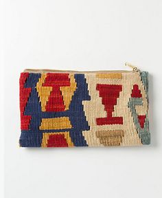 Love these pouches from Anthropologie