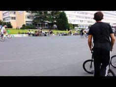 Велодром в Дрездене - YouTube
