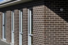 The Connoisseur brick collection from PGH Bricks offers a sophisticated range of colours and textures for premium home or building project design. Brick Pavers, Bricks, New Homes, Exterior, Curtains, Design, Home Decor, Blinds, Decoration Home