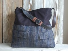 Upcycled Men's suit Tote by hoakonhelga on Etsy. $95 Great idea