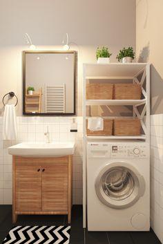 wohnung im skandinavischen stil badezimmer mit mbeln im eichedekor christoph baum - Stil Wohnung