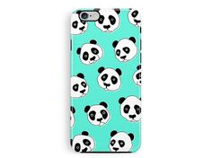 Panda Phone Case, Protective Phone case, iPhone 6 protective case, iPhone 5 protective case, Cute Bumper Phone Cases, Wildlife Lover Gifts