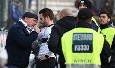 Antonio Cassano taler med vrede Parma fans efter Cesena kampen!