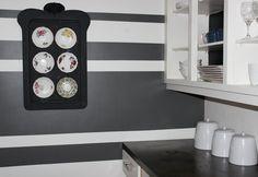 Online Interior Design White Kitchen Reveal.  Design by Online Interior Design.