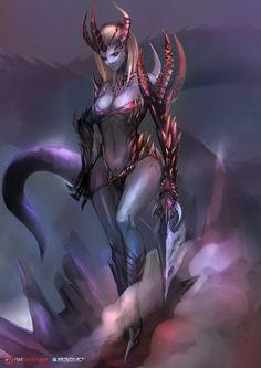 Monster girl by bamuth.deviantart.com