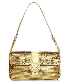 MICHAEL Michael Kors Handbag, Fulton Flap Bag - MICHAEL Michael Kors - Handbags & Accessories - Macy's