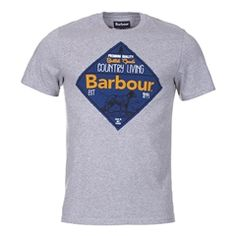 New for 2016 Barbour Gundog T-Shirt - Grey Marl Barbour Mens, Heritage Brands, Fashion Forward, Suits, Grey, Mens Tops, T Shirt, In Trend, Gray