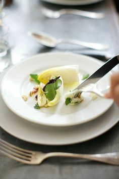 ... Salad with Endive, Roquefort, Apples and Toasted Hazelnuts - Bliss