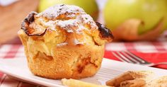 12 recipes for diet muffins Easy Apple Muffins, Oat Muffins, Cheese Danish Braid Recipe, Muffin Recipes, Cookie Recipes, Simple Muffin Recipe, Raspberry Muffins, Mini Tortillas, Seasonal Food