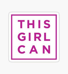 Girl Power- This Girl Can Sticker