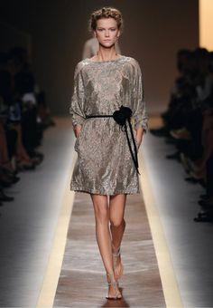 Valentino dress and sandals