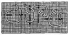 marking cross stitch