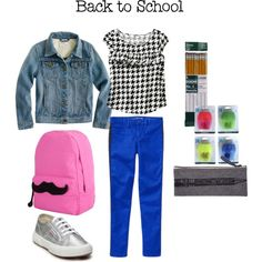Girls Back to School Outfit